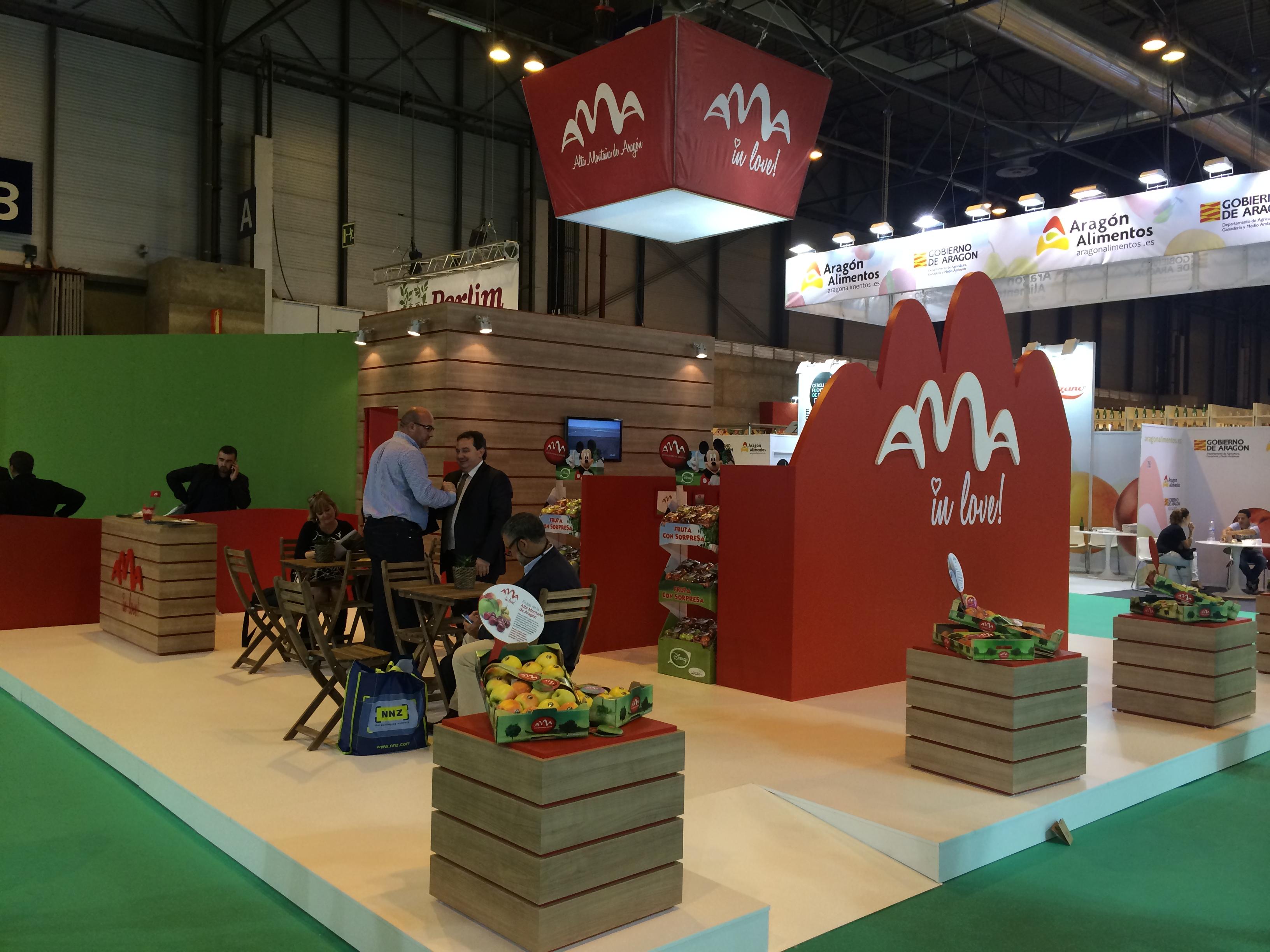 Gran éxito de Ama en Fruit Attraction
