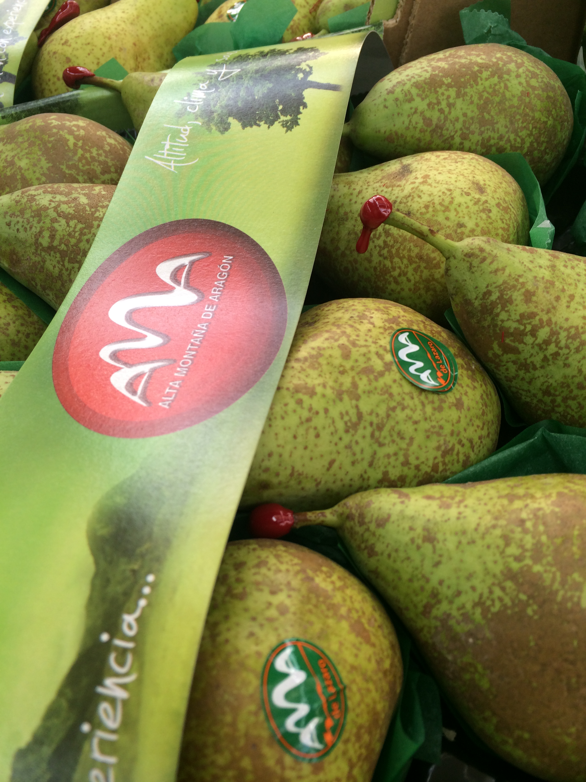 Conference Pears: visible quality